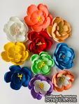 Фиалка, цветок ручной работы из фоамирана,  диаметр 5 см, цвет на выбор, 1 шт. - ScrapUA.com