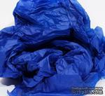 Папиросная бумага тишью 50х66 см  (слож.25 х 16,5см), цвет: синий электрик, 10 листов - ScrapUA.com