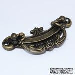 Ручка металическая декоративная, 78х32, 1 деталь - ScrapUA.com