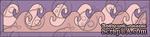 Чипборд Бордюр волны. 15,2 см - ScrapUA.com