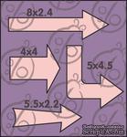 Набор стрелок №1, 4 элемента cb-345 - ScrapUA.com