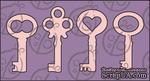 Чипборд Набор ключей №1. Маленький, cb-157 - ScrapUA.com