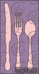 """Чипборд Набор """"Столовые приборы"""" №1. Маленькие cb-217 - ScrapUA.com"""