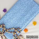 Хлопок, Монпансье, голубой, 45х55 см - ScrapUA.com