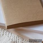 Блок для блокнота А5. Цвет: крафт - ScrapUA.com