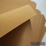 Двусторонний крафт-картон, размер а4, цвет: крафт,  плотность 250г/м2, 1 шт. - ScrapUA.com