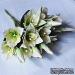 Супер-новинка! Букет белых лилий, 5 шт. - ScrapUA.com