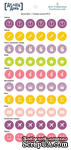 Стикеры-иконки  от StarHouse - Делай день, №10,  10х21 см (диаметр 1 см) - ScrapUA.com