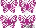 Чипборд от Вензелик - Набор бабочек, размер: 21*28 мм - ScrapUA.com