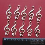 Чипборд от Вензелик - Набор ключиков, размер чипборда: 40*15 мм - ScrapUA.com