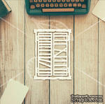 "Чипборд от TM ""Черешня"" - Down street, дизайн: Ирина Музалевская - Окно, 10х12 см - ScrapUA.com"