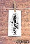 """Штамп резиновый от TM """"Черешня"""" - Down street, дизайн: Ирина Музалевская - фоновый коллаж точки, 6,7х3 см - ScrapUA.com"""