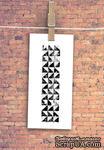 """Штамп резиновый от TM """"Черешня"""" - Down street, дизайн: Ирина Музалевская - Фоновый треугольники, 9х2,2 см - ScrapUA.com"""