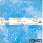Набор односторонней скрапбумаги -Млечный путь, 10 листов, размер 30,5х30,5 см, плотность 190 гр\м2 - ScrapUA.com