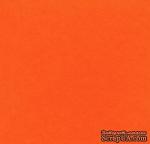 Картон Cover Board Classic, 30x30см, плотность 270, мандариновый - ScrapUA.com
