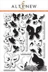 Набор штампов от Altenew - Painted Butterflies - Рисованные бабочки, 29 шт - ScrapUA.com