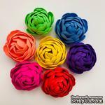 Пион, цветок ручной работы из фоамирана,  диаметр 4,5-5 см, цвет на выбор, 1 шт. - ScrapUA.com