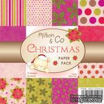 Набор односторонней бумаги от Wild Rose Studio - Рождество   - 15х15 см - ScrapUA.com