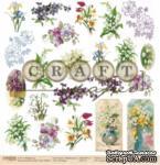 """Лист скрапбумаги - 8 марта """"Первоцветы""""*Обложка* от Craft Paper, 30x30см - ScrapUA.com"""
