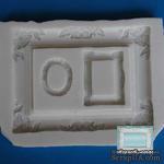Силиконовая форма (молд) - Рамка прямоугольная большая, 10х12,5 см, + 2 рамочки - ScrapUA.com