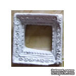 Силиконовая форма (молд) - Рамочка, размер: 20х19/13х10 мм - ScrapUA.com
