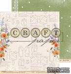 "Лист скрапбумаги - Модница ""Цветик-семицветик"" от Craft Paper, 30x30см - ScrapUA.com"
