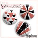 Скрап-значки (фишки) от Бумага Марака - Геометрия - ScrapUA.com