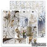 "Лист скрапбумаги от ABstudio - Scrapbooking paper ""Rustical journey"" sheet 3- A magical moment - 30х30см - ScrapUA.com"