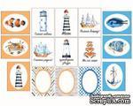 """Набор карточек """"Побережье"""", 15 односторонних карточек, размер 5,5х7 см, плотность 190гр\м2. - ScrapUA.com"""