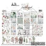"Набор бумаги от ABstudio - ""Secret wood""- scrapbooking paper set 8x 30х30см + bonus - ScrapUA.com"