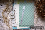 Нож для вырубки от Scrapfriend - Отверстия для кольцевого механизма А5 на 6 колец, 14,5х1,3см - ScrapUA.com