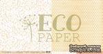 """Лист двусторонней бумаги для скрапбукинга от EcoPaper - """"Сухоцветы"""" из коллекции """"Тайны леса"""". - ScrapUA.com"""
