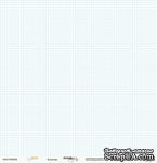 Лист односторонней бумаги от Scrapmir - Baby Boy - КЛЕТОЧКА, размер 30х30 см, 1 шт. - ScrapUA.com