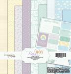 Набор односторонней бумаги от Scrapmir - Baby Boy, размер 20х20 см, 10 листов - ScrapUA.com