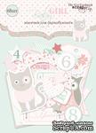 Набор высечек для скрапбукинга от Scrapmir - Baby Girl, 68 шт. - ScrapUA.com