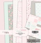 Набор односторонней бумаги от Scrapmir - Baby Girl, 20х20 см, 10 шт. - ScrapUA.com
