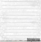 Лист односторонней бумаги для скрапбукинга от Scrapmir - Изморозь - Rustic Winter,  30x30см - ScrapUA.com