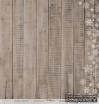 Лист односторонней бумаги для скрапбукинга 30x30 Зимняя текстура, коллекция Scrapmir - Rustic Winter - ScrapUA.com