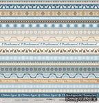 Лист односторонней бумаги для скрапбукинга от Scrapmir - С Праздником - Rustic Winter, 30x30 - ScrapUA.com