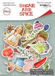 Набор высечек для скрапбукинга от Scrapmir - Sugar and Spice, 64шт. - ScrapUA.com