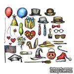 Лезвия Sizzix - Tim Holtz Alterations - Thinlits Die Set - 33 Pack - Bird Things - ScrapUA.com