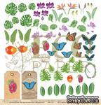 "Лист  бумаги от EcoPaper - Натуралист ""Тропикана"" - ScrapUA.com"