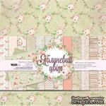 "Набор двусторонней бумаги от WOODchic ""Яблуневий цвіт"", 30,5х30,5см - ScrapUA.com"