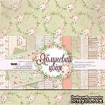 "Набор двусторонней бумаги от WOODchic ""Яблуневий цвіт"", 20х20см - ScrapUA.com"