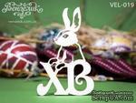 Чипборд от Вензелик - Кролик 04, размер: 54x82  мм - ScrapUA.com