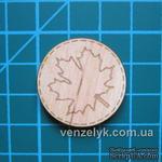Деревянное украшение от Вензелик - Круглячок 03 - ScrapUA.com