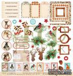 """Лист с картинками от EcoPaper - Волшебная зима """"Зимние сны"""", 30х30см - ScrapUA.com"""