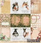 Карточки от EcoPaper - «Зимние сны», 30х30 см - ScrapUA.com