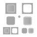 Лезвие Tonic Studios - Simplicity Verso – Gothic Border Square Die Set, 5 штук - ScrapUA.com
