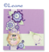 Акриловый штамп от LeCreaDesign - Clearstamp Owlie's Pipa at party - Совушка на празднике - ScrapUA.com
